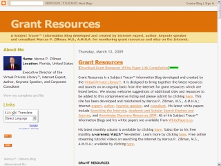 resources grants funding