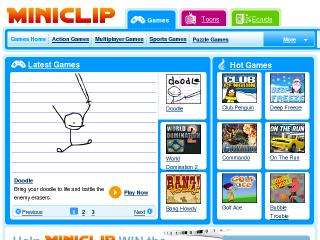 MiniClip Games - World's Largest Free Online Games Website - Marcus P.  Zillman